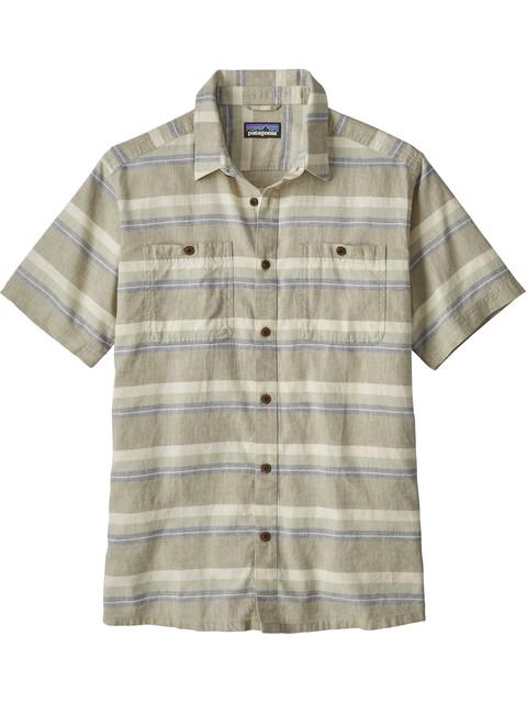 Patagonia M's Back Step Shirt Shorelines Stripe: Shale